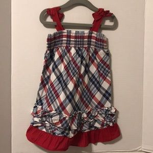 Plaid Tank Dress.